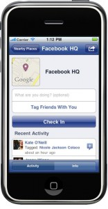 facebook places für iphone